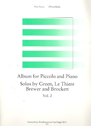 - Album for piccolo and piano vol.2