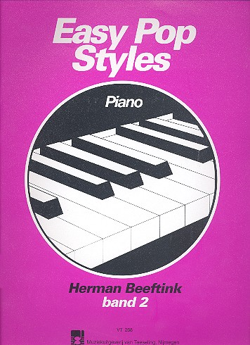 Beeftink, Herman - Easy Pop Styles vol.2 : for piano