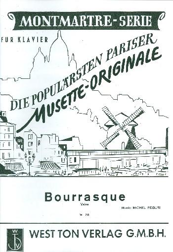 Bourrasque: Valse für Akkordeon