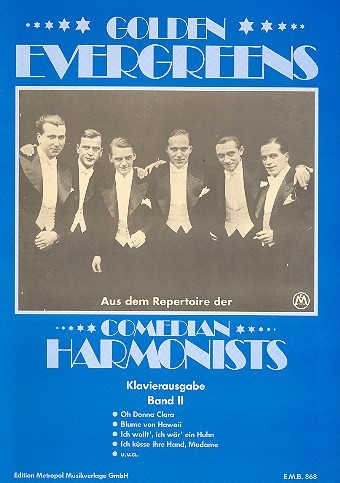 Comedian Harmonists Band 2: Golden Evergreens für Gesang