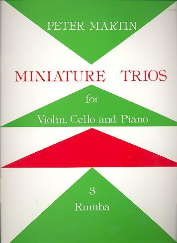 Martin, Peter - Miniature Trios vol.3 : Rumba