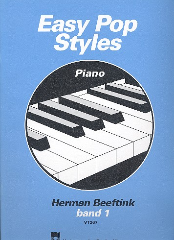 Beeftink, Herman - Easy Pop Styles vol.1 : for piano