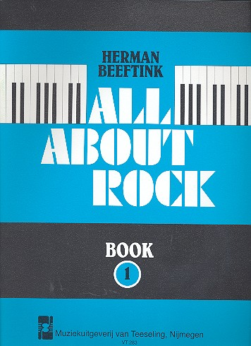 Beeftink, Herman - All about Rock vol.1 : for piano