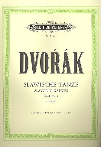 Dvorak, Antonin - Slawische Tänze op.46 Band 1 :