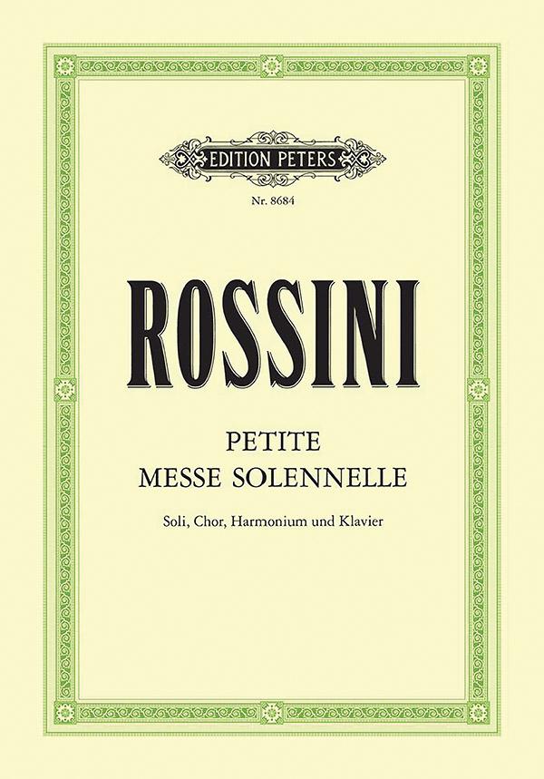 Petite messe solenelle: für Soli (SATB), Chor, Harmonium und Klavier