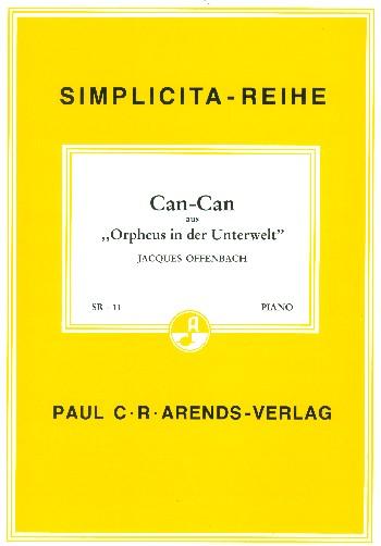 Can Can aus Orpheus in der Unterwelt: Einzelausgabe