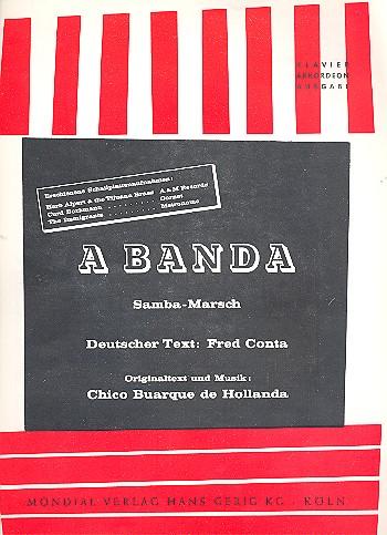 A Banda: Einzelausgabe Gesang und Klavier
