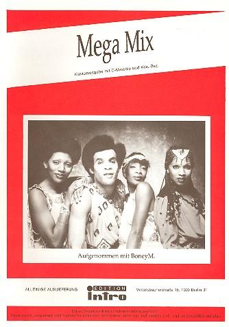 Boney M Mega Mix: Potpourri für Gesang und Klavier