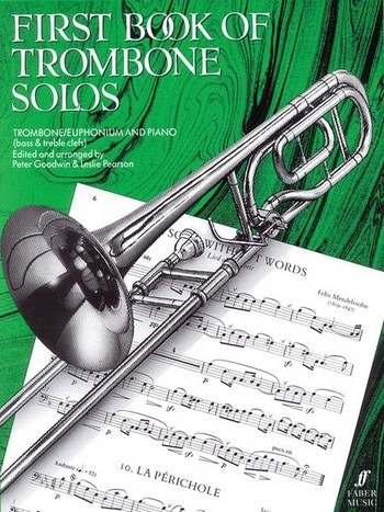 - First Book of Trombone Solos : for