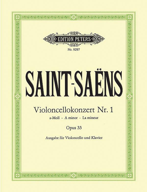 Saint-Saens, Camille - Konzert a-Moll Nr.1 op.33 für