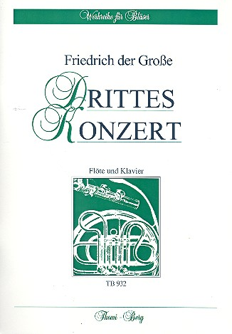 Friedrich II., Der Große - Konzert C-Dur Nr.3 :