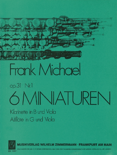 Michael, Frank - 6 Miniaturen op.31,1 :