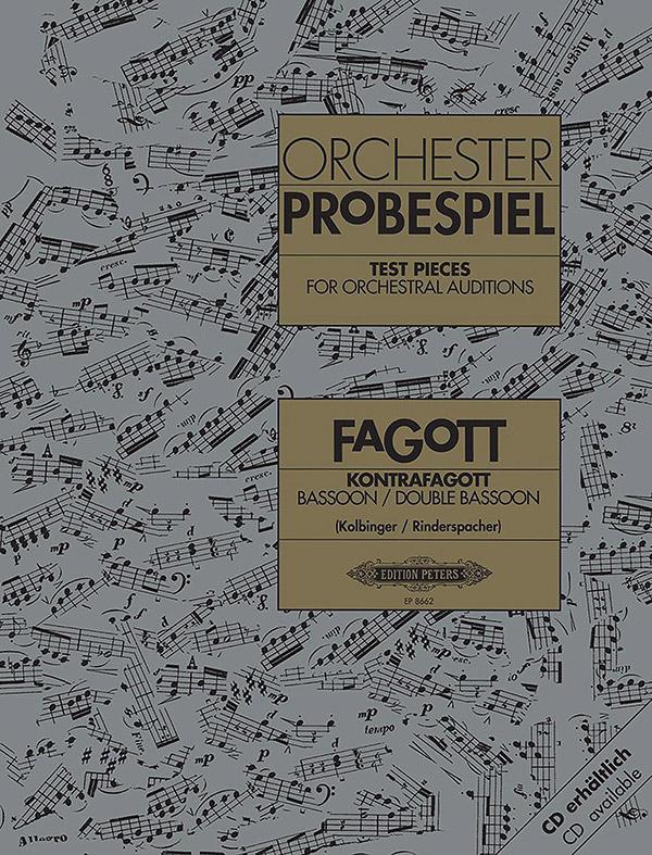 - Orchester Probespiel : Fagott / Kontrafagott