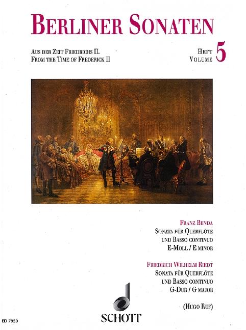 - Berliner Sonaten Band 5 :