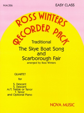 Tthe Skye Boat Song and Scarborough Fair: for SSA(T) recorder sand piano