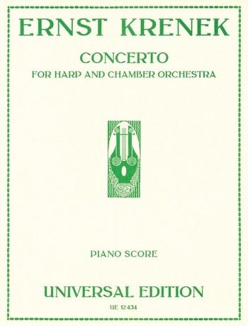 Concerto for harp and chamber orchestra: für Harfe und Klavier