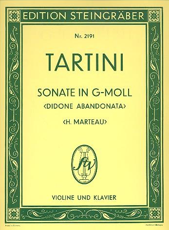 Tartini, Giuseppe - Sonate g-Moll : für