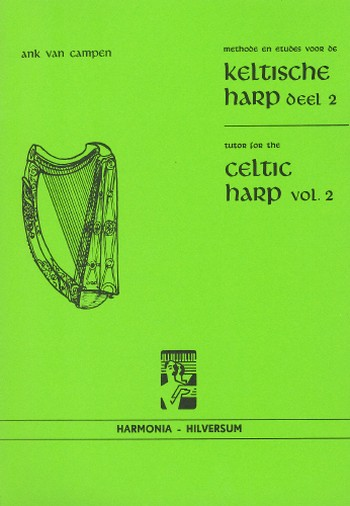 Tutor for the Celtic Harp vol.2 Harfenschule (en/nl)