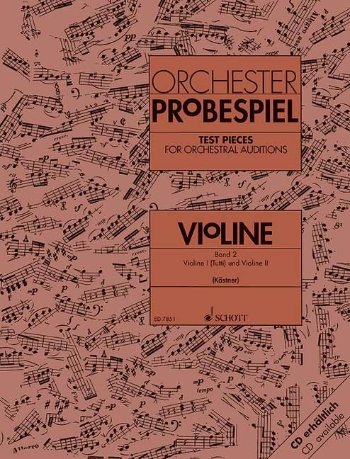 - Orchester Probespiel Violine Band 2 :