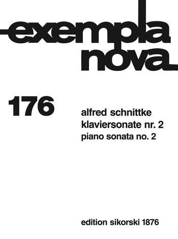 Schnittke, Alfred - Sonate Nr. 2 : für Klavier (1990)