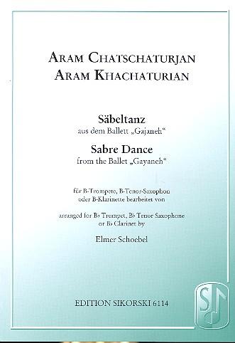 Chatschaturian, Aram - Säbeltanz aus Gajaneh : für