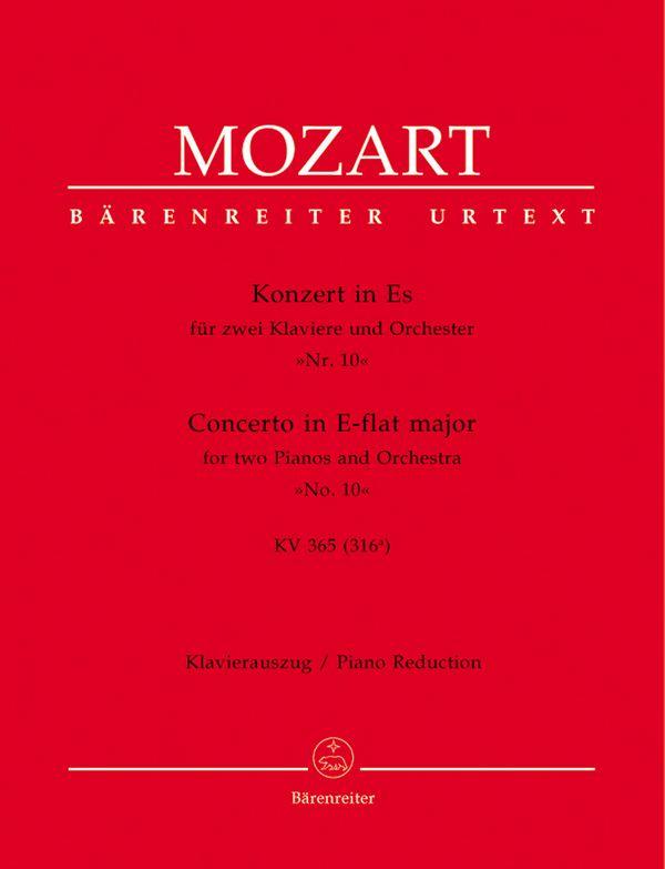 Konzert Es-Dur KV365 für 2 Klaviere und Orchester: