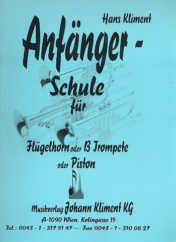 Kliment, Hans - Anfängerschule : für Flügelhorn