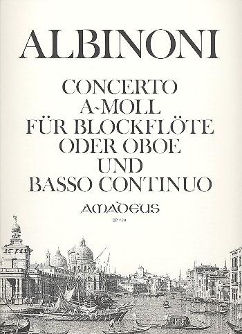 Albinoni, Tomaso - Concerto a-Moll : für