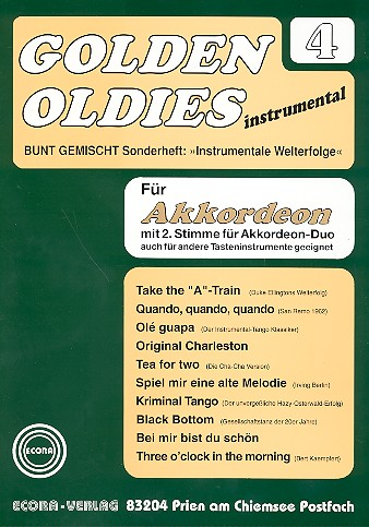 - Golden Oldies Band 4 : für Akkordeon