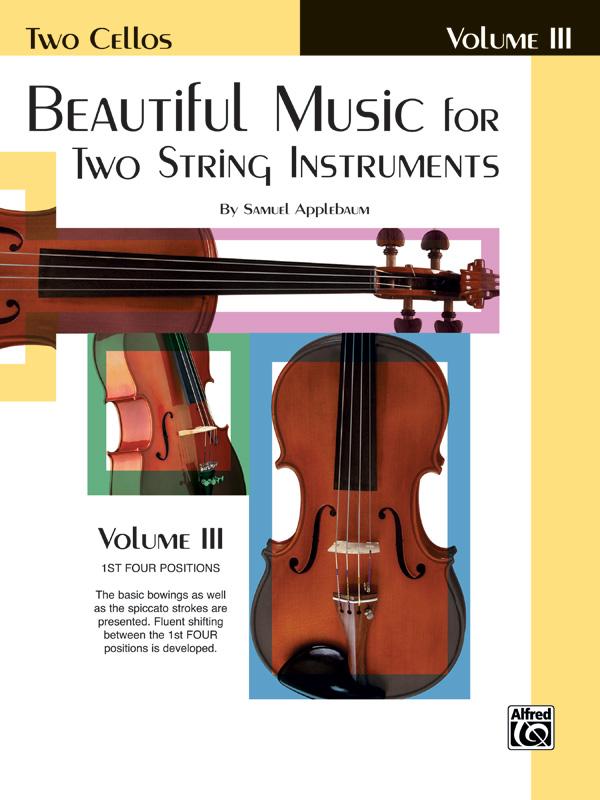 Applebaum, Samuel - Beautiful Music vol.3 , for 2 cellos