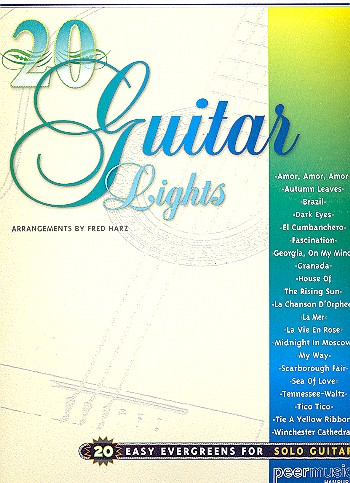 20 Guitar Lights: 20 easy evergreens for solo guitar