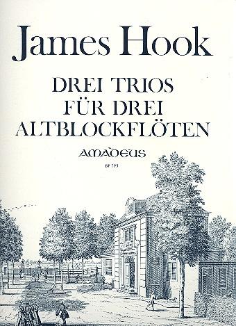 3 Trios: für 3 Altblockflöten