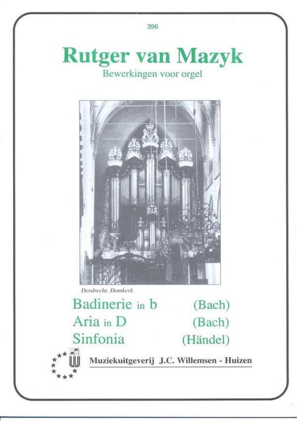 Badinerie in b: voor orgel