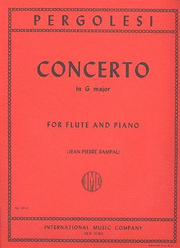 Pergolesi, Giovanni Battista - Concerto G major :