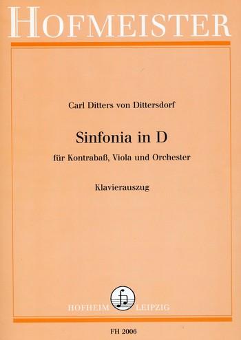 Ditters von Dittersdorf, Karl - Sinfonia concertante D-Dur für Viola