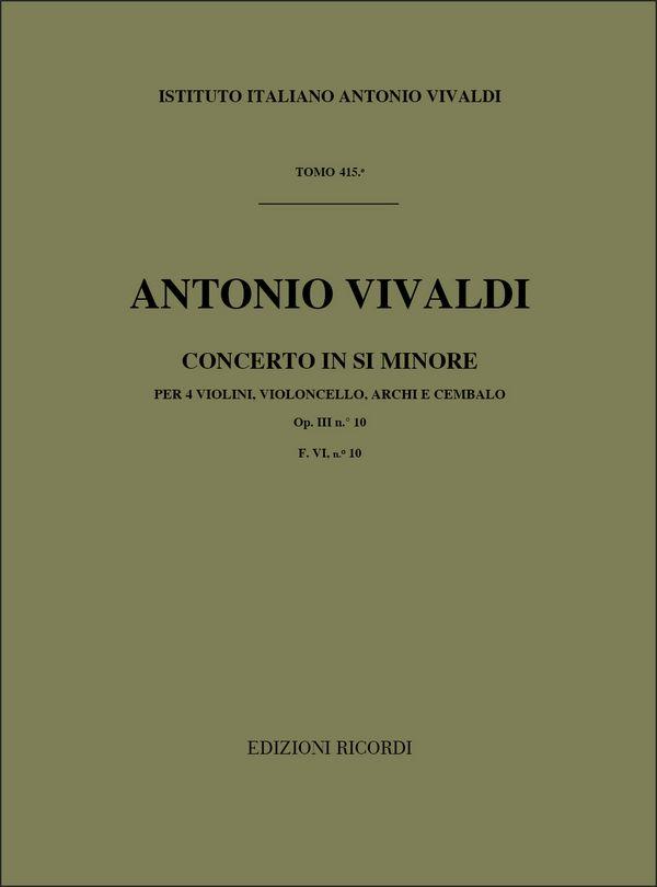 Vivaldi, Antonio - Konzert h-Moll : für