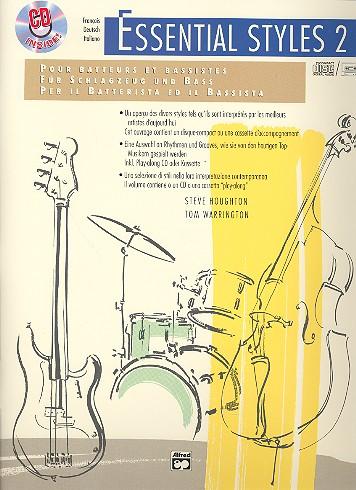 Essential Styles vol.2 (+CD): für Schlagzeug und Baß (dt/fr/it)