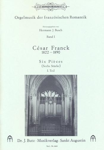 Franck, César - 6 Stücke für Orgel Band 1 (Nr.1-3)