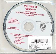 Ballads vol. 32: CD