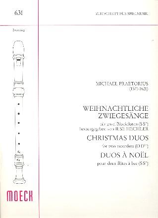 Praetorius, Michael - Weihnachtliche Zwiegesänge :