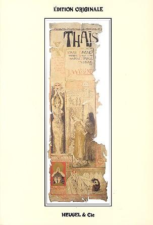 Massenet, Jules Emile Frederic - Thais : Klavierauszug (fr)
