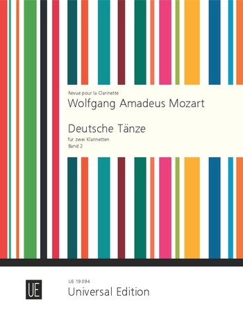 Mozart, Wolfgang Amadeus - Deutsche Tänze Band 2 : für
