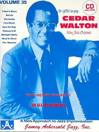 Cedar Walton (+CD): 9 Jazz Originals