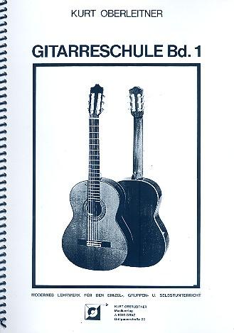 Gitarrenschule Band 1: Modernes Lehrwerk für den Einzel-,