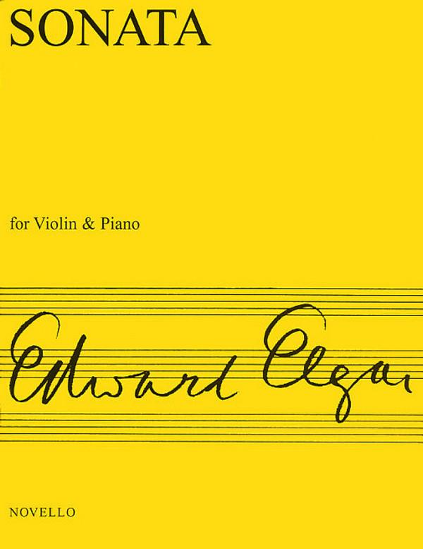 Elgar, Edward - Sonata : for violin and piano