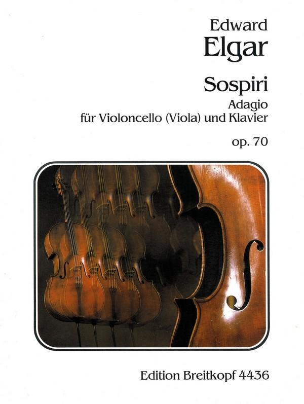 Elgar, Edward - Sospiri d-Moll op.70 : Adagio für