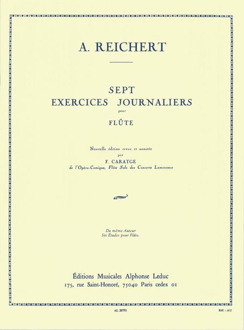 Reichert, Mathieu André - 7 exercices journaliers op.5 :
