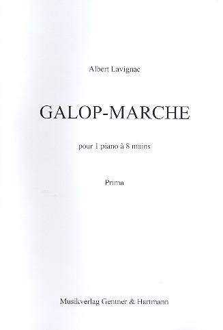 Galop-Marche: pour un piano à 8 mains