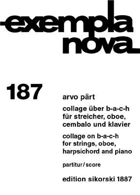 Pärt, Arvo - Collage über B-A-C-H : für