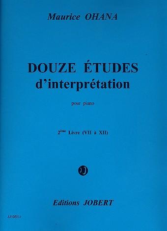12 études d\